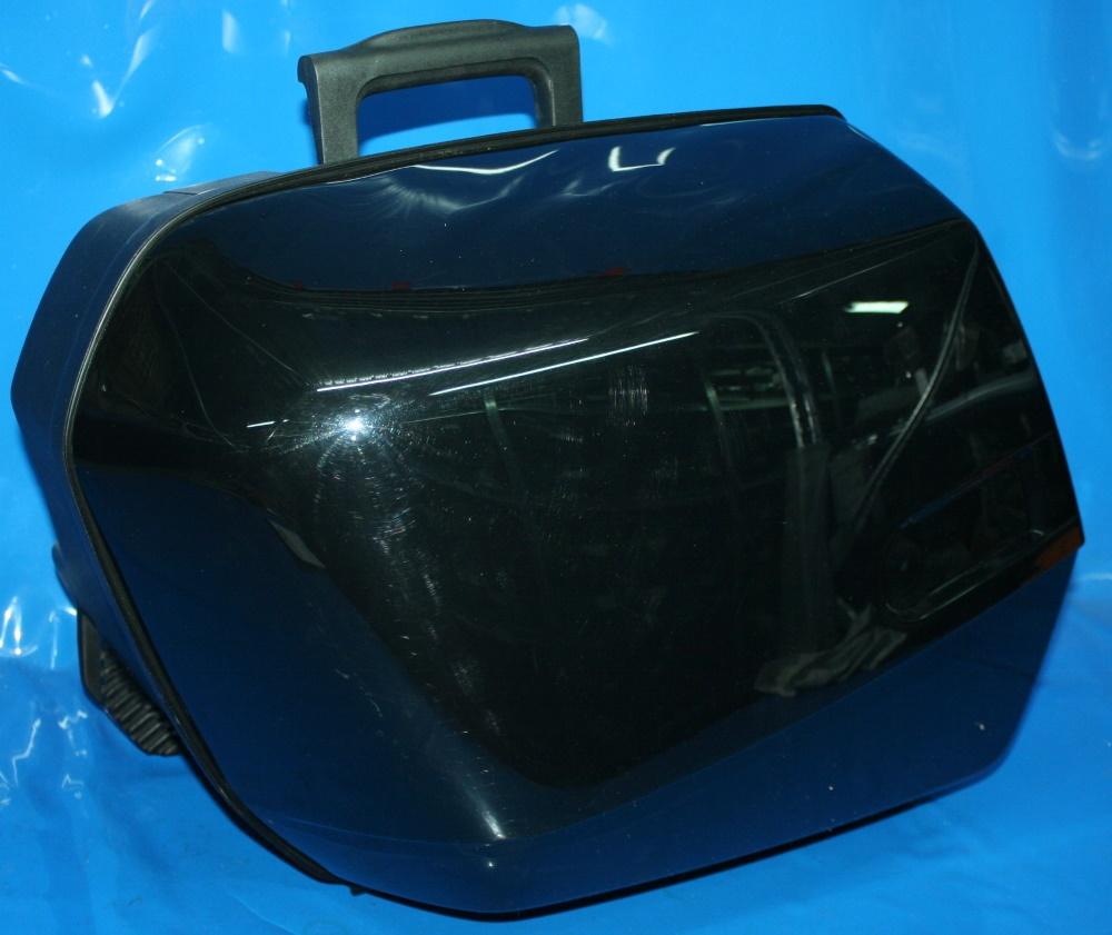 Koffer li.System R1100 schwarz/poliert o.Schießzylinder