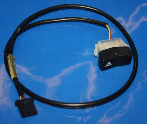 Warnblinkschalter GS 91- Einbau