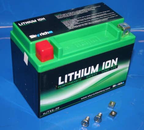 Batterie Lithium 12V 2,4AH YTX9-BS HJTX9B-FP