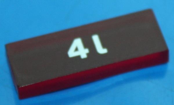 Kontroll-Symbol 4L K100 K75 -04/85 rot
