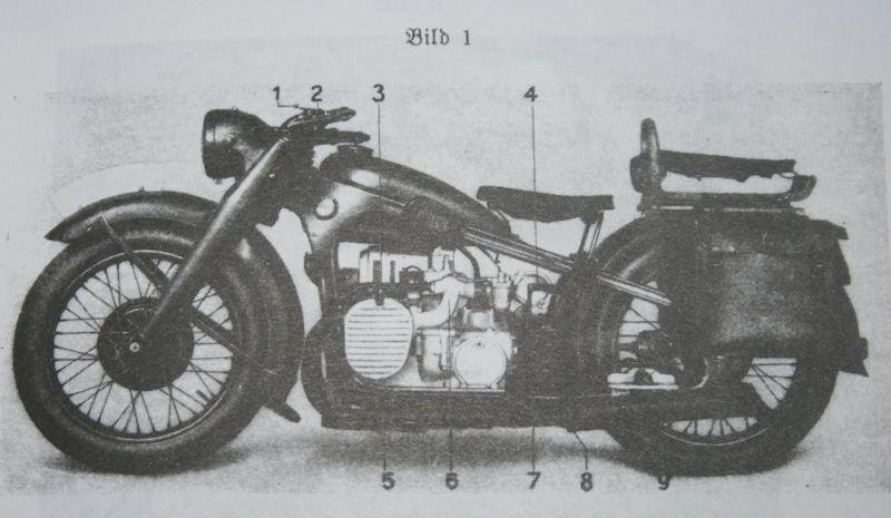 Motorrad R12 in Teilen ca 90% komplett