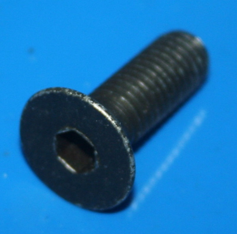 Schraube Lenkergewicht M8x25 schwarz