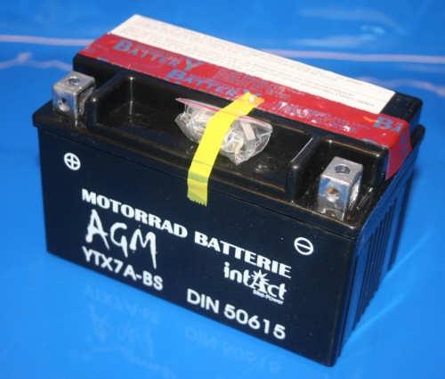Batterie 12V 6AH Wartungsfrei mit Füllung