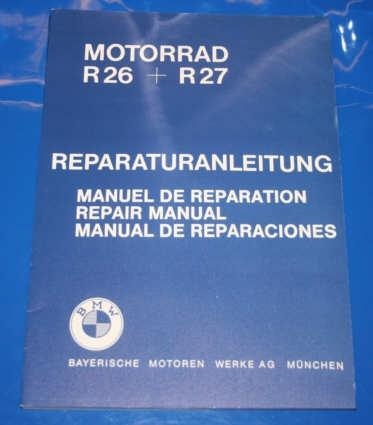 Werkstatthandbuch R26 R27 D/GB/FR/ES