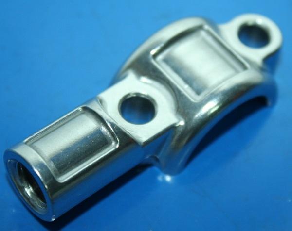Klemmschelle Kupplungsarmatur G450X mit Spiegelgewinde