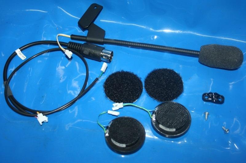 Einbausatz Gegensprechanlage f. Helm 4 Stereo