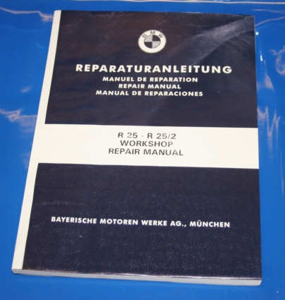Werkstatthandbuch R25 english repair manual