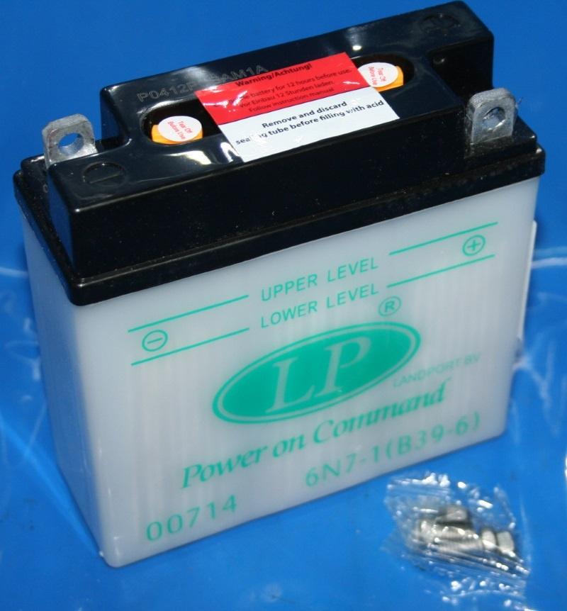 Batterie 6V 7AH B39-6