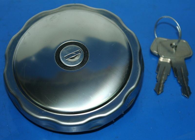 Tankdeckel R25-69S abschließbar mit Schlüssel VA
