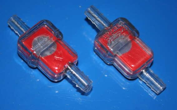 Benzinfilter 7mm Anschluß ideal für 2 Ventiler Boxer