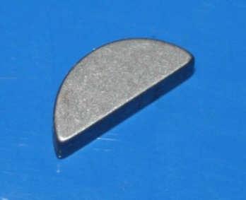 Scheibenfeder 3x5 f.NW hinten /6/7 +R25-27 KW vorn