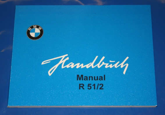 Betriebsanleitung R51/2 english owners manual