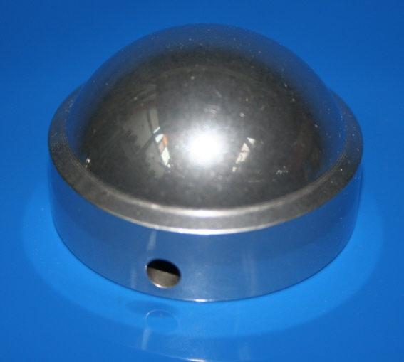 Kappe Federbein hinten  R26 R27 R50 R60 R69S Alu poliert