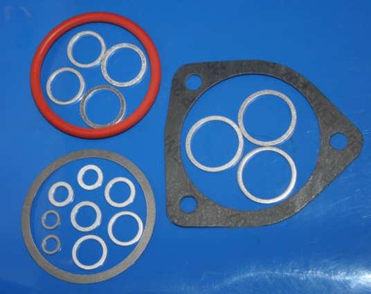 Dichtsatz Ölwechsel 78- 18tlg. mit Getriebe-, Kardan- Gabeöl