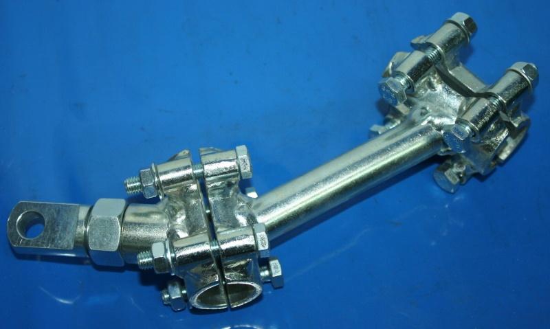 Flachanschluss 4.Punkt R26-R27 Seitenwagenanschluss vorn