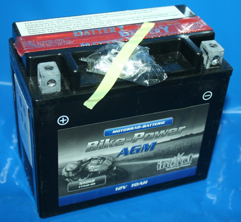 Batterie 12V 11AH WP12-B Wartungsfrei mit Füllung YTX12-BS