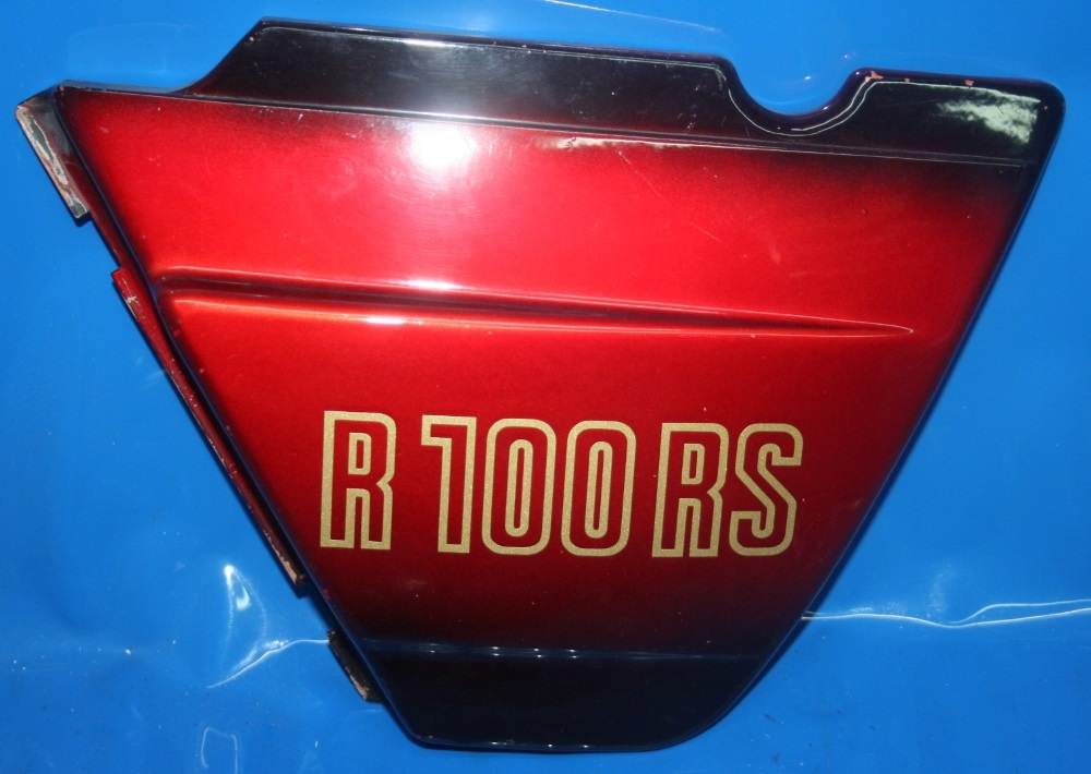Batterieabdeckung R100RS re. lavarot GEBRAUCHT! original