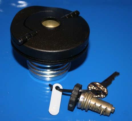 Tankdeckel /7- mit Schließzylinder Nachfertigung Kunststoff