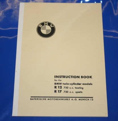 Betriebsanleitung R12 R17 english owners manual