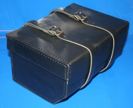 Topcase Leder G/S+GS schwarz Schnallenverschluss