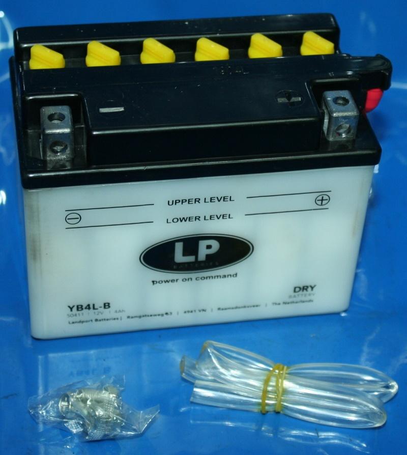Batterie 12V 4AH verstärkt mit Säurepack