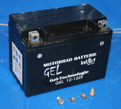 Batterie 12V11,5AH Gel Wartungsfrei Plus links