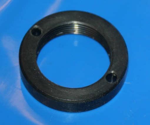 Mutter Zündschloß schwarz Ringmutter R45-100RT