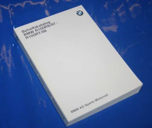 Ersatzteilkatalog R100RS R100RT 87- Monolever