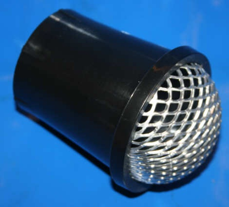 Ansaugtrichter Dellorto Kunststoff mit Gitter 70mm PHM