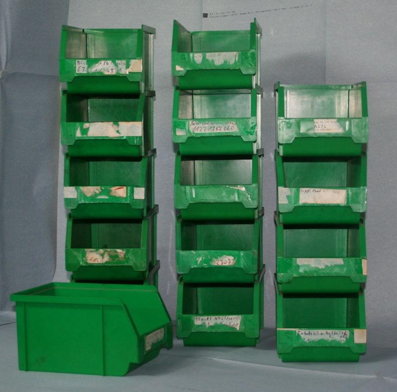 Sichtlagerkasten 103 grün Würth GEBRAUCHT 15x