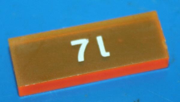 Kontroll-Symbol 7L K100 K75 -04/85 orange