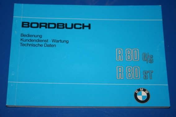 Betriebsanleitung R80G/S + ST deutsch