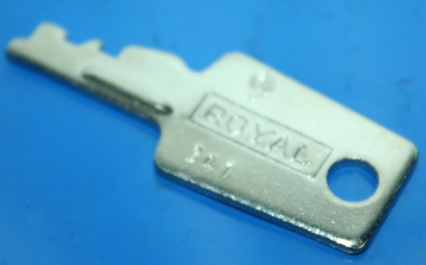 Schlüssel Krauser S341 Royal
