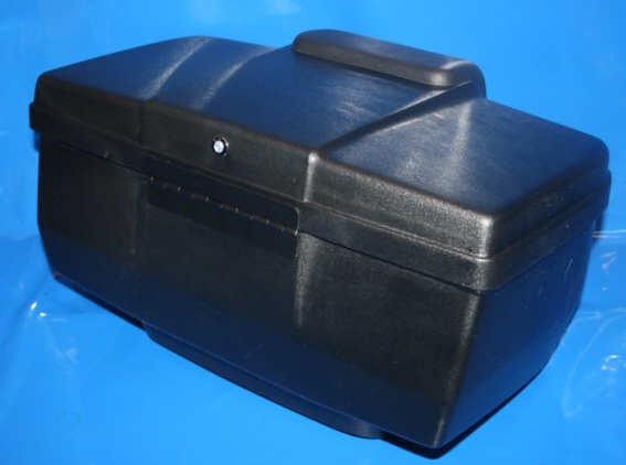 Topcase 22 Liter K+R80 85- o.Schließzylinder schwarz