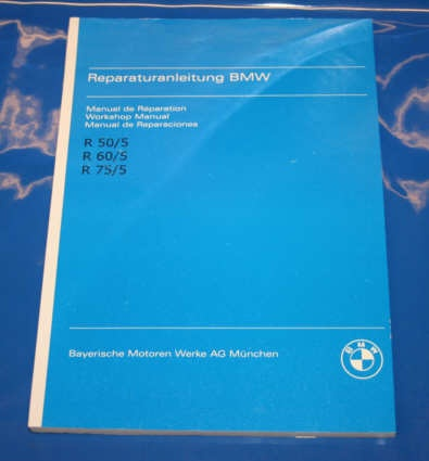 Werkstatthandbuch /5 english repair manual