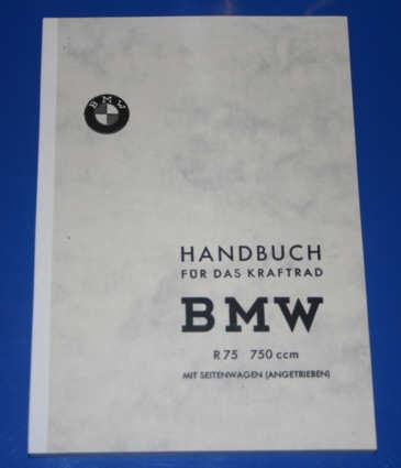 Betriebsanleitung R75 Wehrmacht Deutsch
