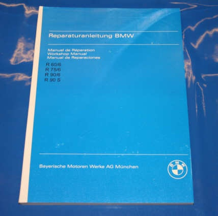 Werkstatthandbuch /6 english repair manual
