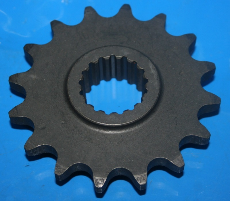 Ritzel am Getriebe F800GS 08 13 17 +Adv. vorne Z=16