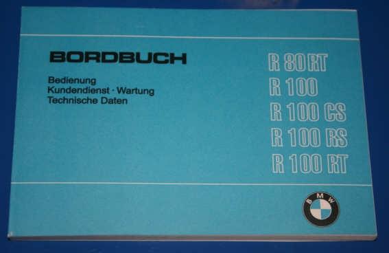 Betriebsanleitung R80/100 81-84