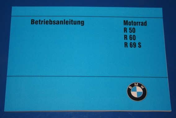 Betriebsanleitung R50/2 R60/2 R69S deutsch