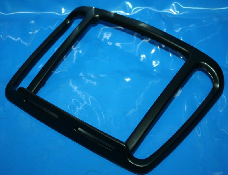 Portapacchi posteriore nera K75/100/1100