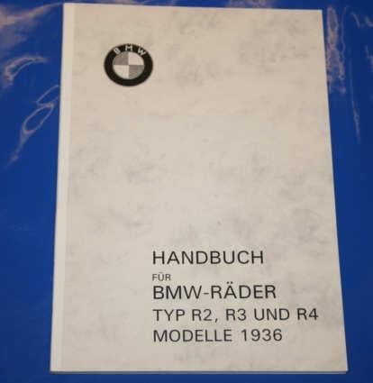 Betriebsanleitung R2 R3 R4 Modell 1936