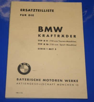 Ersatzteilkatalog R11 R16 Deutsch