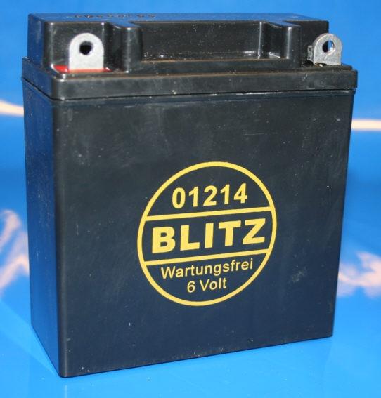 Batterie 6V 12AH Gel schwarz 6n11a-1b R26 R27