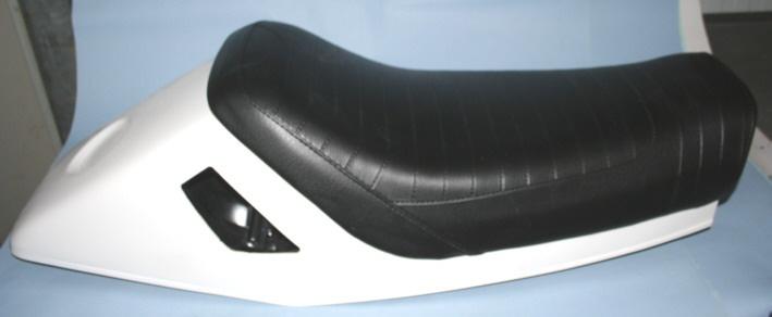 Sitzbank R100RS Einzel Nachfertigung mit Sitzheck