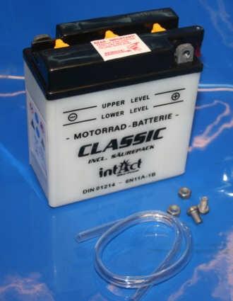 Batterie 6V 12AH 6n11a-1b