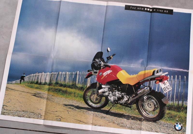 Poster R1100GS mit Prospekt deutsch Zeitschäden ca.800x590mm