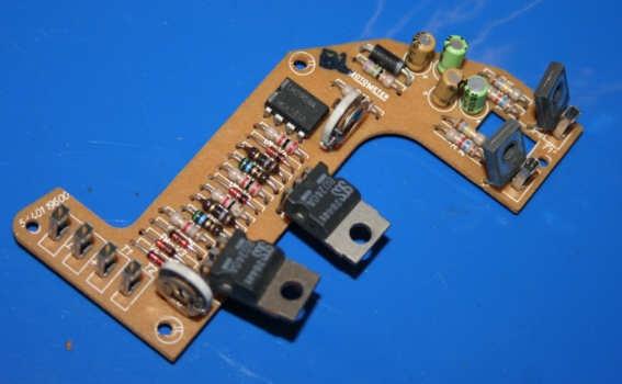 Leiterplatte Kraftst.Anzeige K100 -4/85 (7x)