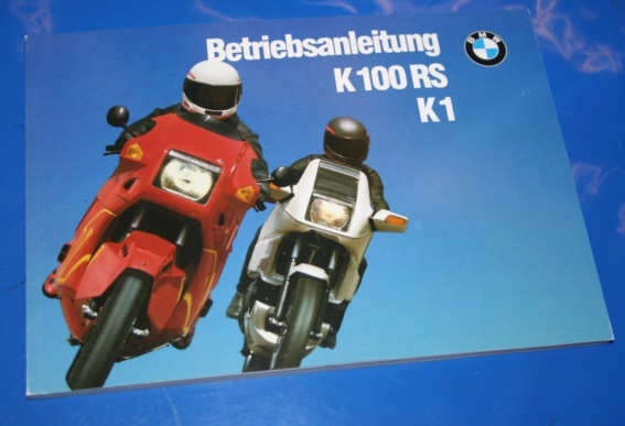 Betriebsanleitung K1 K100RS 16V
