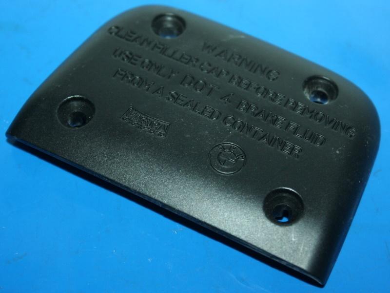 Deckel Bremsfl.beh. R1200C/K1200RS schwarz  R1150